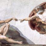 アダムの創造[部分](ミケランジェロ画)